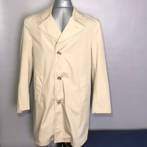 Sears Roebuck and Co. Trench Coat Size